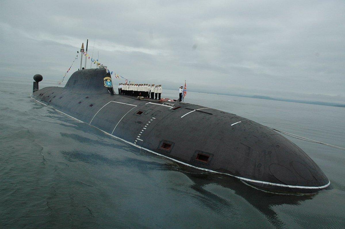 как называются подводные лодки россии