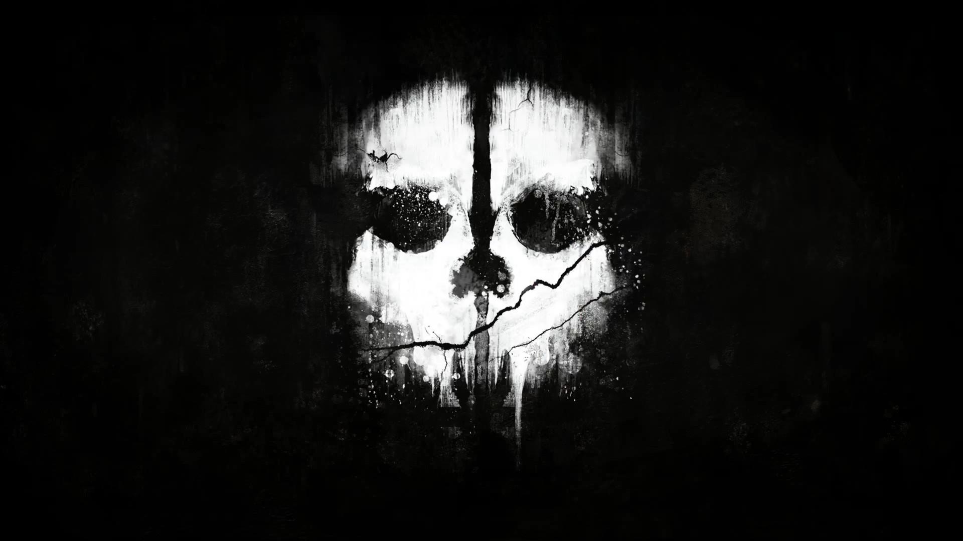 Маска из игры Call Of Duty