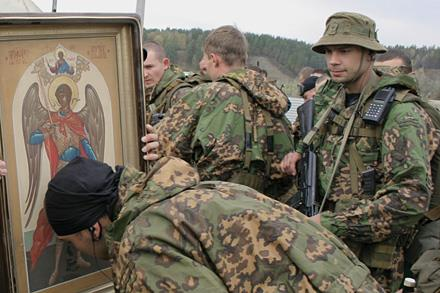 Вера и служба русских на Кавказе.