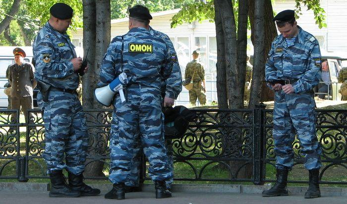 """В Химках полиция задержала 40 участников """"гражданского рейда"""" националист ..."""