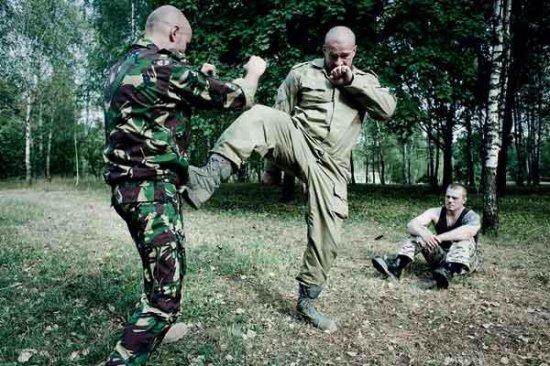 Рукопашный бой спецназа ГРУ.