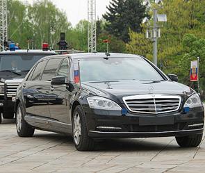 Штандарт президента Российской Федерации на авто