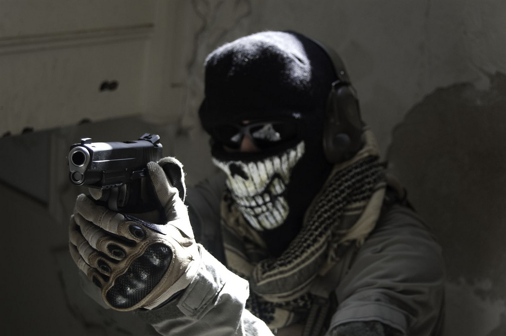 Call of duty ghosts маска