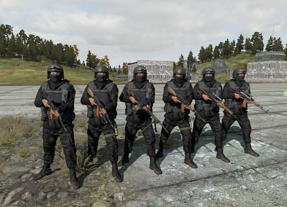 Костюмы российского спецназа