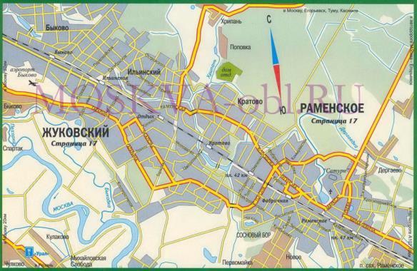 Город Жуковский Московской