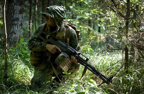 Боец военной разведки России - новый образ армейской элиты