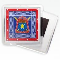 Магнитик «Волжское казачье войско» знамя