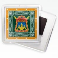 Магнитик «Иркутское казачье войско» знамя