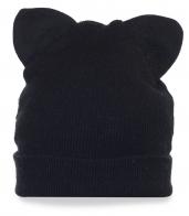 Уникальная женская шапка с ушками