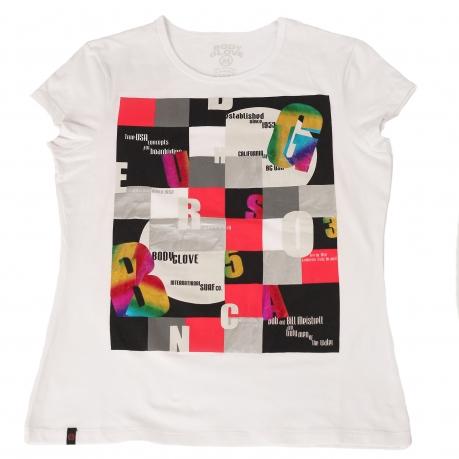Абстрактная футболка Body Clove