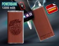 """Аккумулятор power bank 12000 с изображением знака """"75 лет ГСВГ"""""""