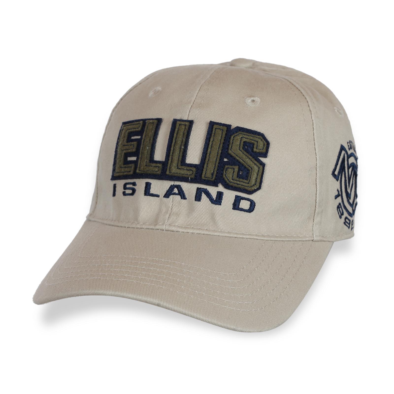 Американская бейсболка Ellis Island.