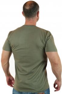 Армейская футболка РХБЗ с вышивкой на груди по лучшей цене