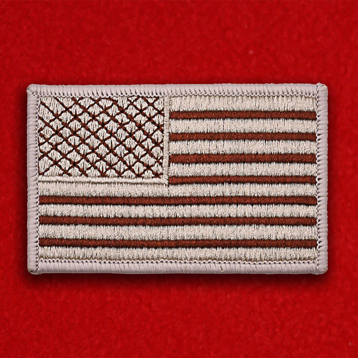 """Армейская нашивка """"Флаг США"""""""