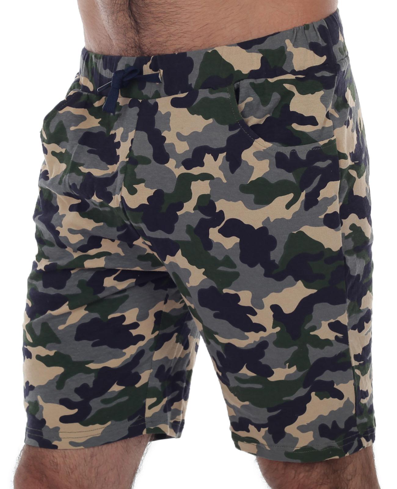 Купить в Москве армейские мужские шорты с карманами