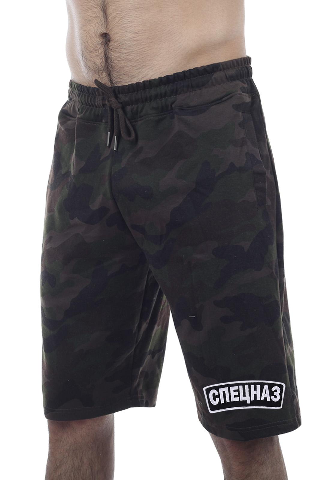 Мужские спецназовские шорты из хлопка