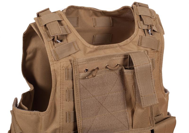 Армейский бронежилет FSBE хаки-песок