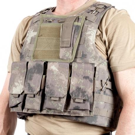 Тактическая разгрузка FSBE камуфляж A-TACS