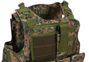 Армейский бронежилет FSBE камуфляж Marpat