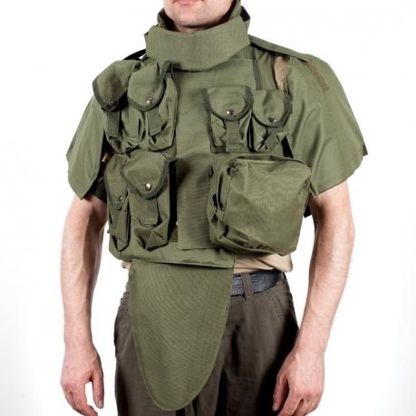 Армейский бронежилет IOTV хаки-олива