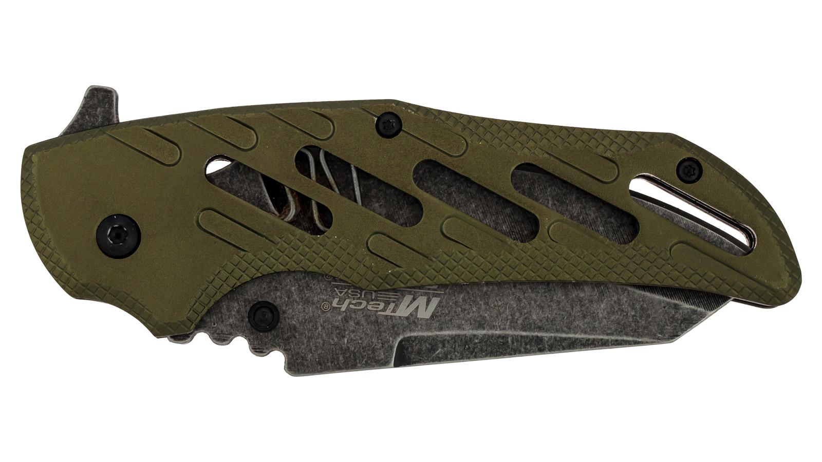 Армейский складной нож Mtech Ballistic MT-A904GR - купить в розницу
