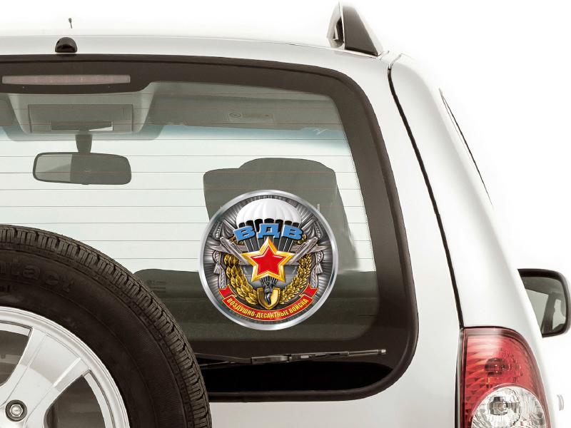 Автомобильная наклейка «Воздушно-десантные войска»