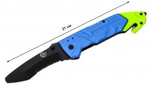 Аварийный складной нож со стеклобоем Colt Rescue Linerlock CT737 (США) - купить онлайн