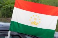 Автомобильный флаг Таджикистана