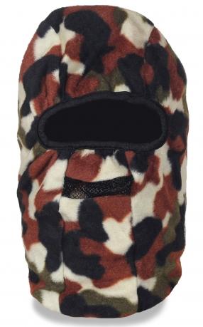 Балаклава камуфляжная из мягкой и теплой ткани