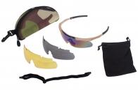 Баллистические очки с 3 линзами