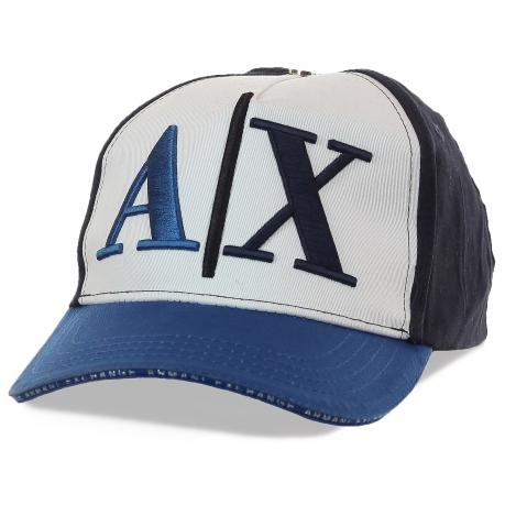 Бейсболка Armani Exchange – молодежная линейка стильных аксессуаров от итальянского бренда-легенды. Нестандартные решения по цене, доступной Москве и всей России