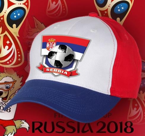 Бейсболка фаната Сербии