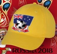 Котоновая бейсболка сборной Австралии