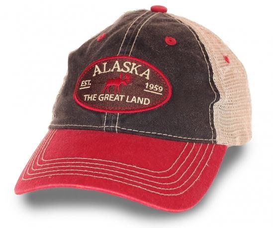 Бейсболка Alaska для истинного ценителя севера