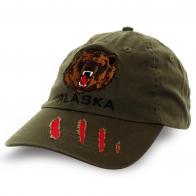 Бейсболка Alaska с медведем. Безупречное качество!