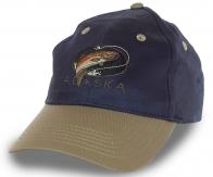 Бейсболка Alaska с рыболовной тематикой