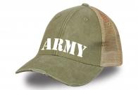 """Бейсболка """"ARMY"""" с сеткой сзади"""