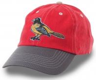 Спортивная бейсболка с символом профессионального бейсбольного клуба Baltimore Orioles (МЛБ)
