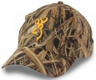 Бейсболка BROWNING Rimfire Cap – тепло, сухость, мобильность и защита от непогоды! Проклеенные плоские швы, камуфляж Mossy Oak Shadow Grass Blades и всё это по цене 499 р!