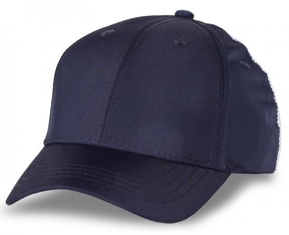 Бейсболка для сублимации фиолетовая с сеткой