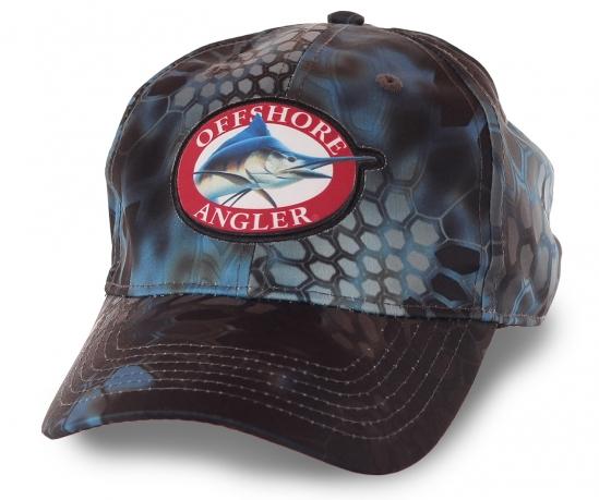 Бейсболка для ценителей морской рыбалки Offshore Angler