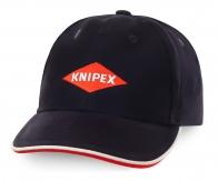 Бейсболка Knipex - мировой лидер особенного инструмента. Любите качественные товары? Заказывайте!