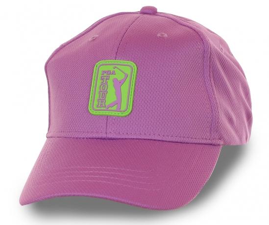 Бейсболка с логотипом PGA Tour – модель для чемпионов и неравнодушных к гольфу. Уникальный цвет победоносной орхидеи