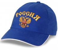 """Бейсболка """"Россия"""" в современном дизайне. Авторская модель с гербом. Безупречное качество, достойный вид"""