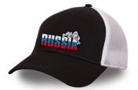 Бейсболка Russia с сеткой