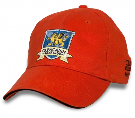 Бейсболка с логотипом гольф-клуба Glencairn