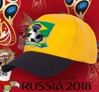 Бейсболка сборной Бразилии для фанатов «избранных».