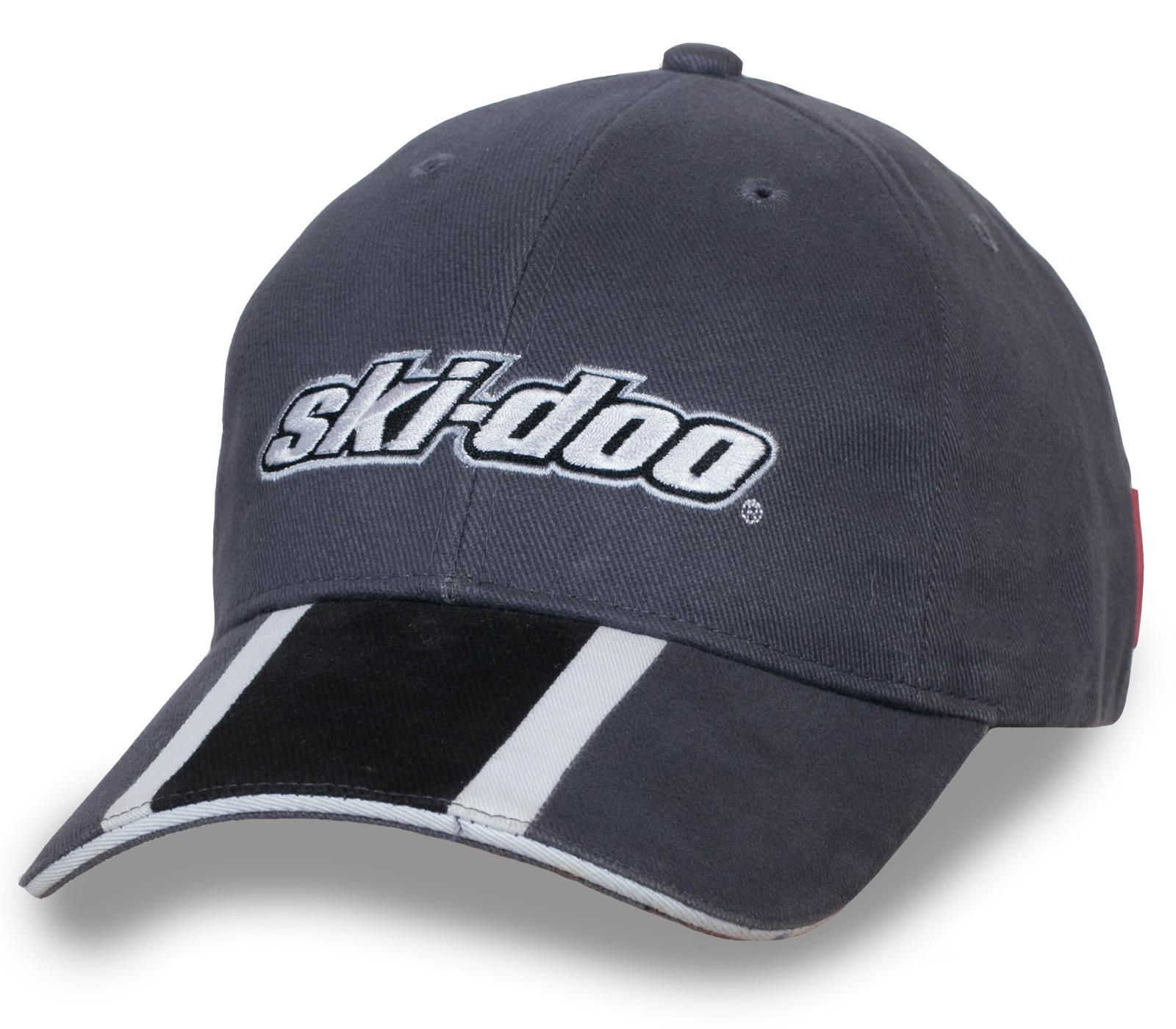 Купить мужскую бейсболку серого цвета – стильно и практично