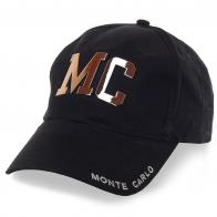 Гламурная бейсболка унисекс Monte-Carlo. Модная одежда расскажет о тебе больше, чем ты сам/сама!