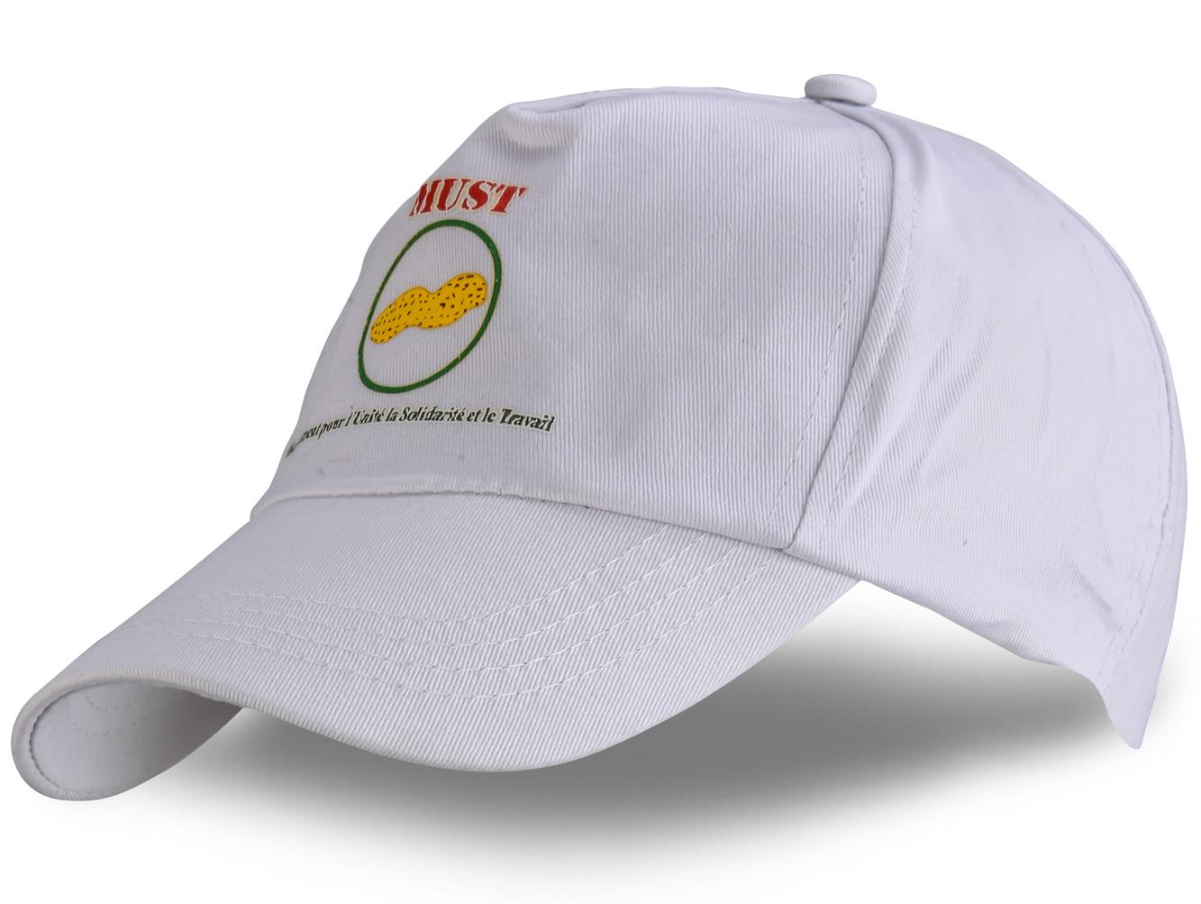 Заказать мужские и женские белые кепки на лето